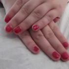 After: CND Shellac Gel Manicure 10 (#Red Baroness)