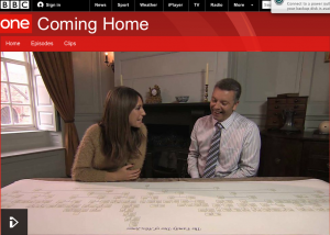Coming Home BBC1 Wales post image