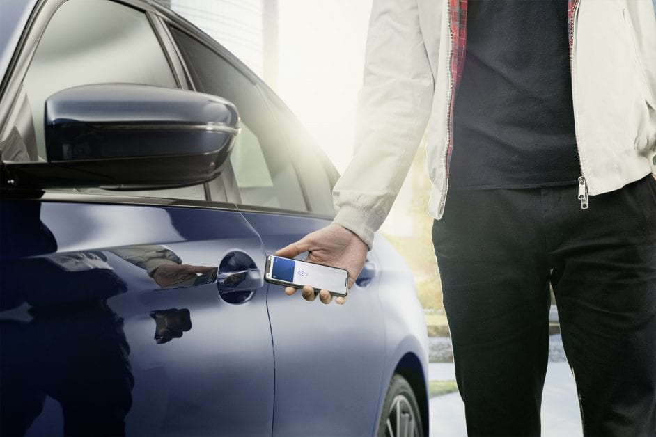BMW Announces Support For Digital Key
