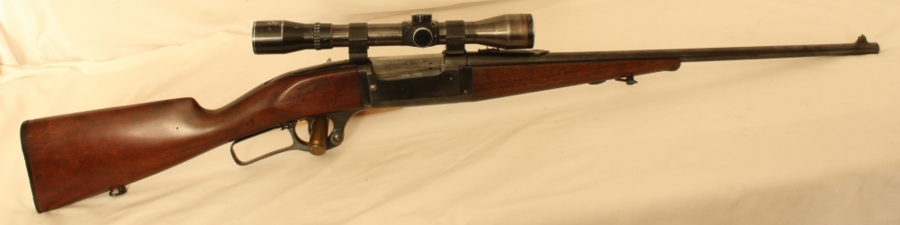 "Savage 1899 Under Lever Take Down Rifle S/H Calibre .22"" Savage Hi Power/5.56x52R Image"