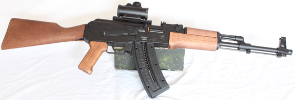 GSG (German Sporting Guns) AK47 Kalashinkov semi auto rifle S/H. Image