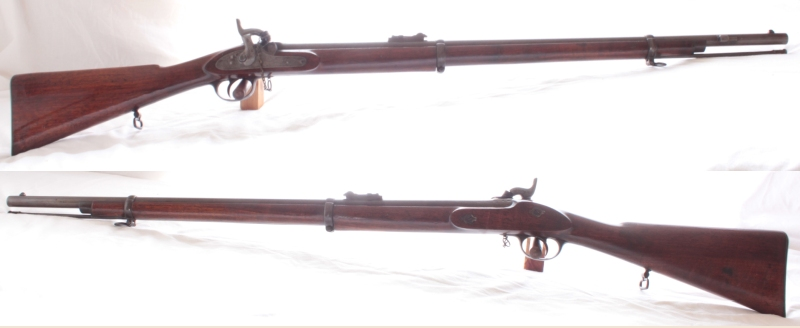 "Enfield Pattern 56 Muzzle Loading Rifled Musket by GW Bales S/H Calibre .577"" Sold Image"