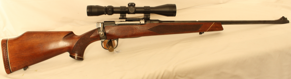 Parker Hale Lee Enfield No1 action sporter conversion. Calibre .303. S/H rifle. Image