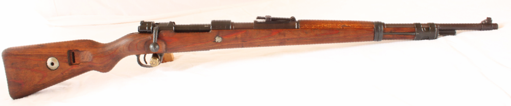 Mauser K98 1944 Brunn- Russian Capture-Rifle. S/H Image