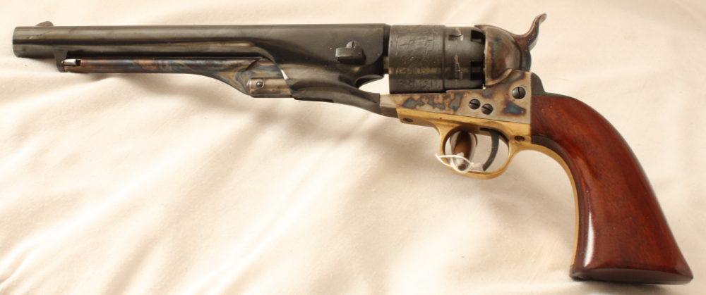 Uberti reproduction Colt Army model of 1860 muzzle loading revolver S/H Image