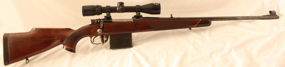 Parker Hale 1200C Superclip rifle S/H. Image