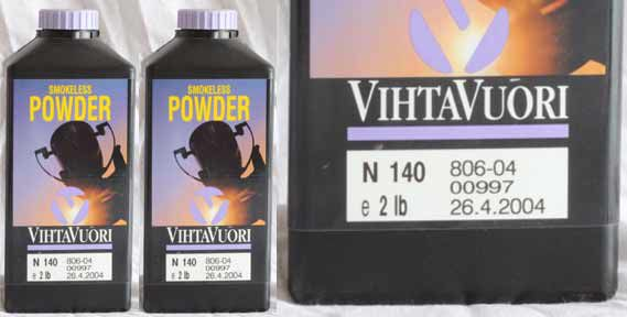 Vihtavuori Rifle Powders N100 series Image