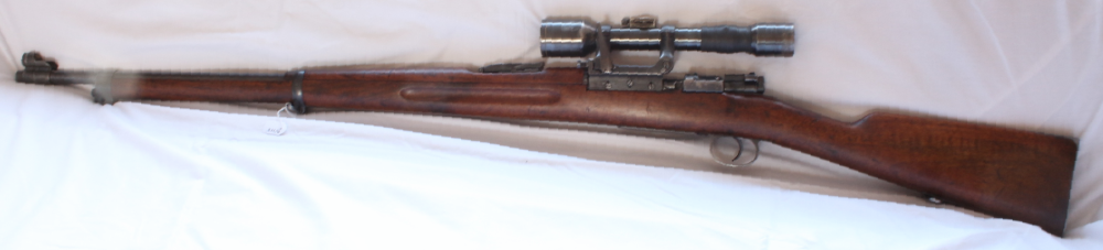 Carl Gustav M41/B sniper rifle 6.5x55 Swedish calibre S/H Image