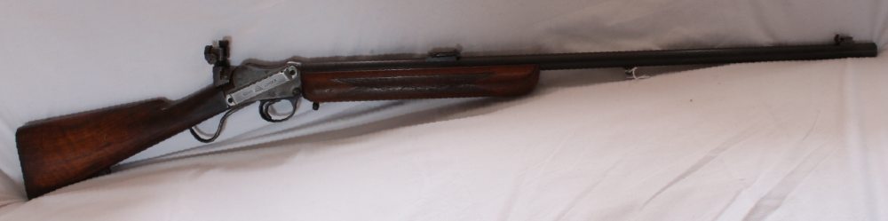 "BSA model 12 ""the Famous 12"" small bore Martini action target rifle. S/H. Calibre .22RF Image"