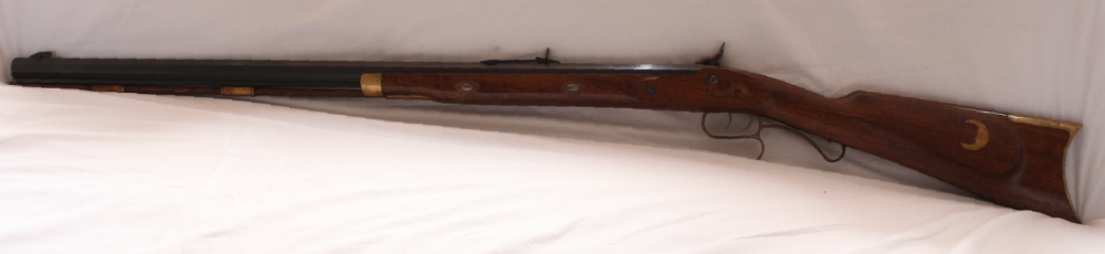 Ardessa Hawken muzzle loading percussion rifle. S/H. Calibre .50 Image